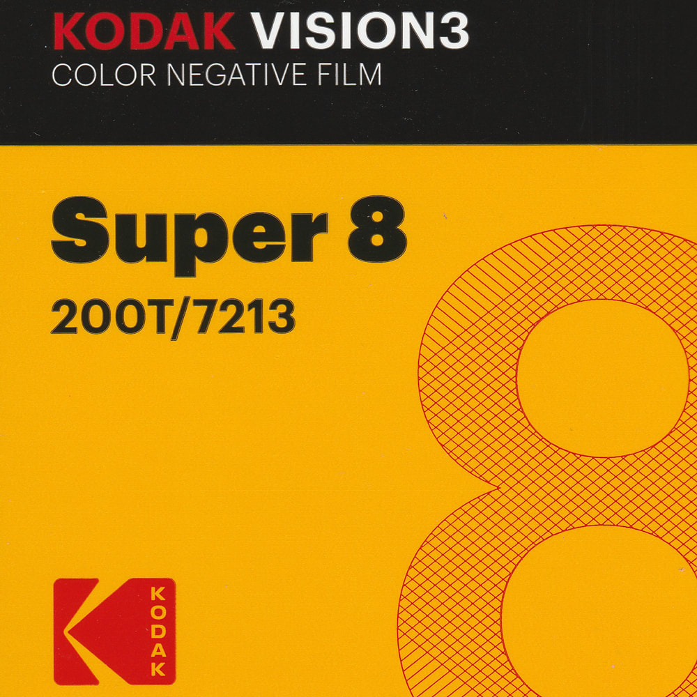 Kodak Vision3 200T Colour Super 8 Negative Film
